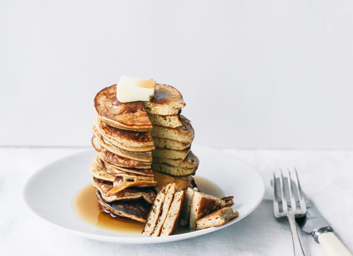 2 ingredient Healthy Pancakes (gluten free)