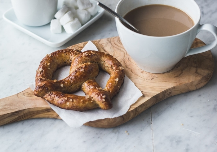Single-Serving Soft Pretzel