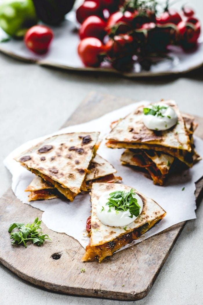 Apricot salsa quesadillas izy hossack top with cinnamon apricot salsa quesadillas forumfinder Gallery