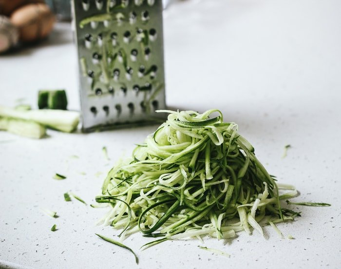 Zucchini pasta without spiralizer