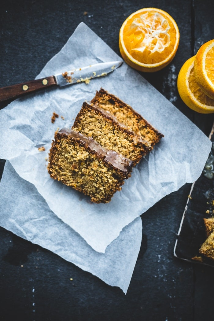 Orange Spelt And Almond Cake Vegan Izy Hossack Top