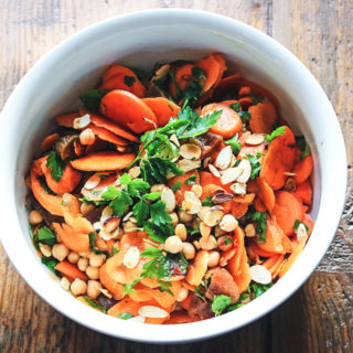 Cumin-spiked Carrot and Chickpea Salad