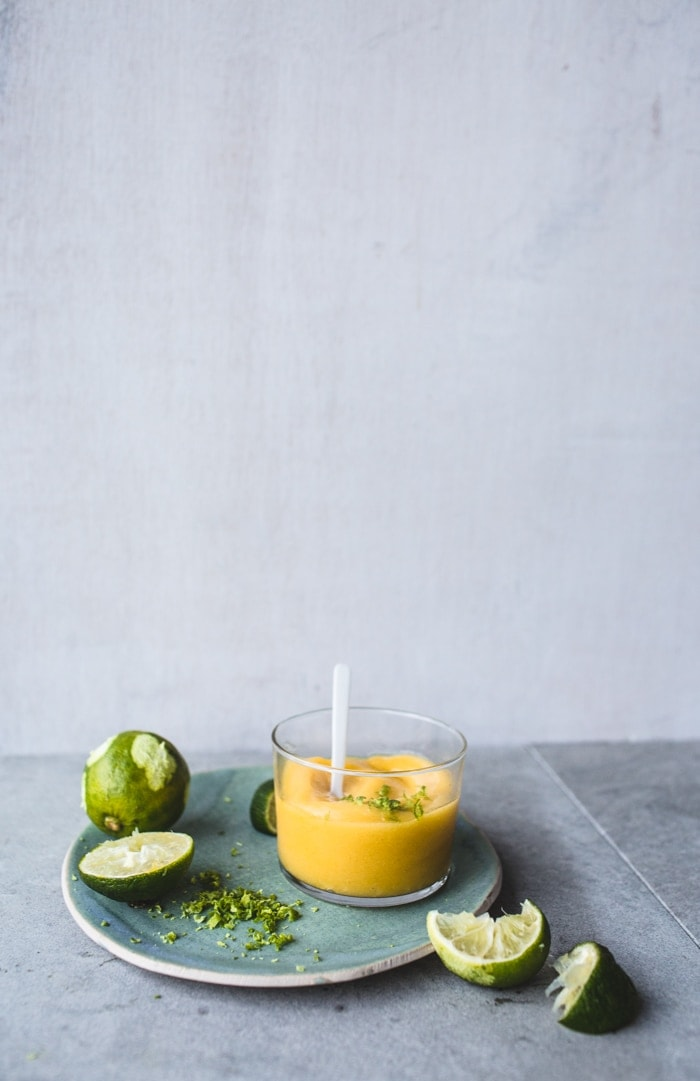 Frozen Mango & Apple Daiquiris