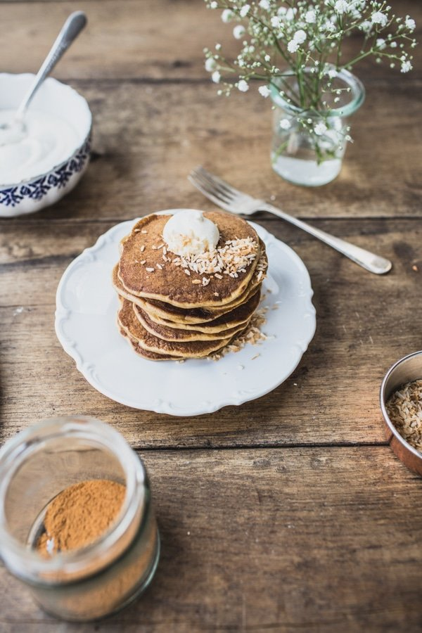 Carrot Cake Pancakes 067
