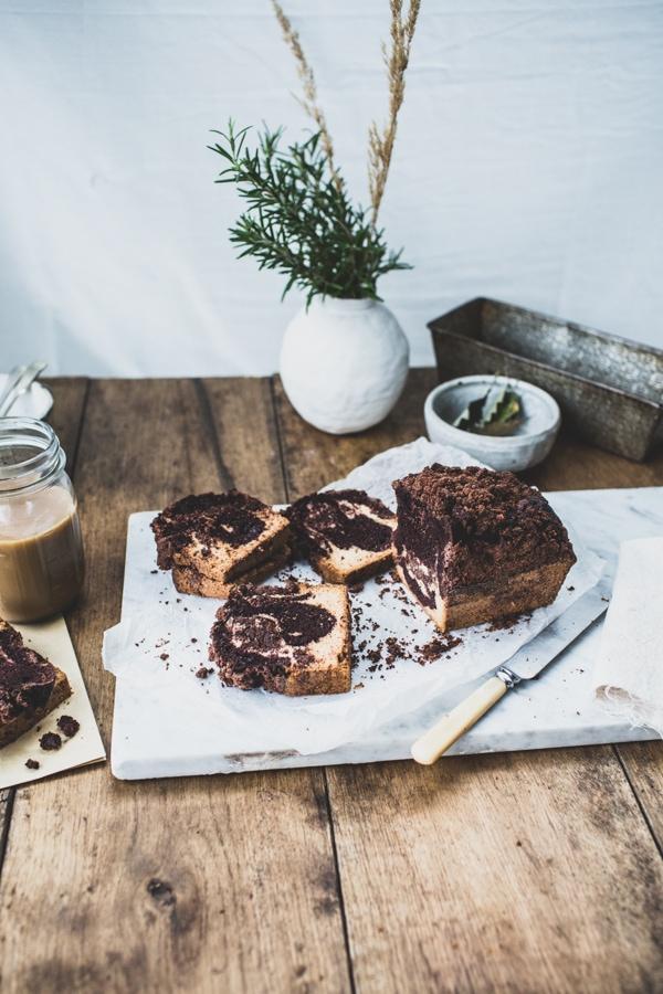 Triple Chocolate-Vanilla Swirl Crumb Cake 013