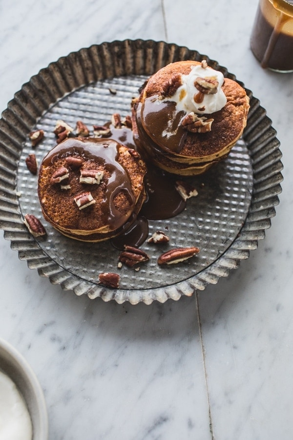 My Fave Gluten Free Pancakes (and Sticky Toffee Pudding Pancakes!)