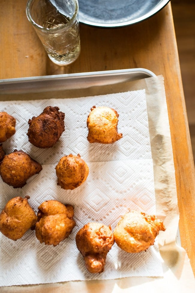 Wild Blueberry & Coconut Ricotta Doughnuts-13
