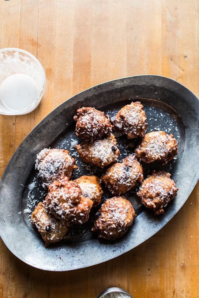 Wild Blueberry & Coconut Ricotta Doughnuts-21