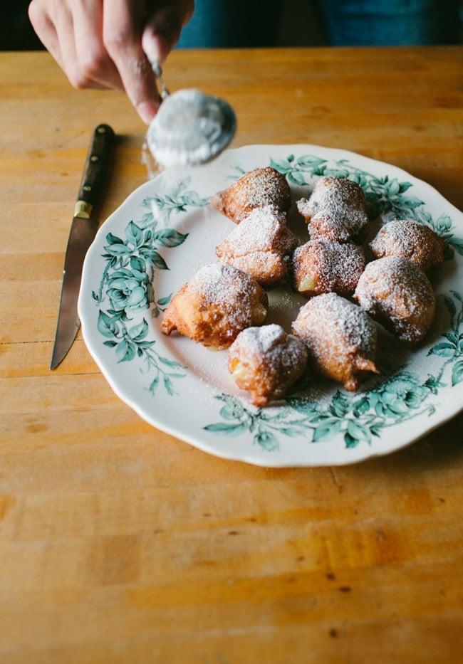 Wild Blueberry & Coconut Ricotta Doughnuts-23