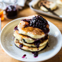 Clinton St. Baking Co.'s Famous Blueberry Pancakes