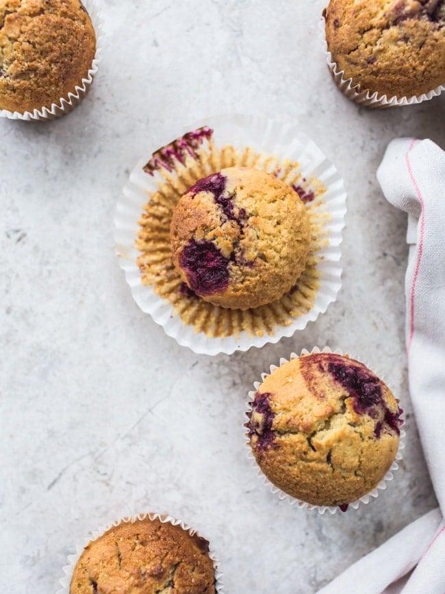 Loganberry & Cornmeal Muffins-11