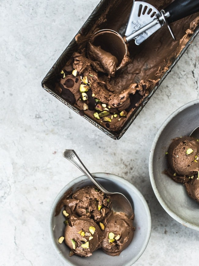 Magical Sweet Potato Chocolate Ice Cream {No Added Sugar & Vegan}