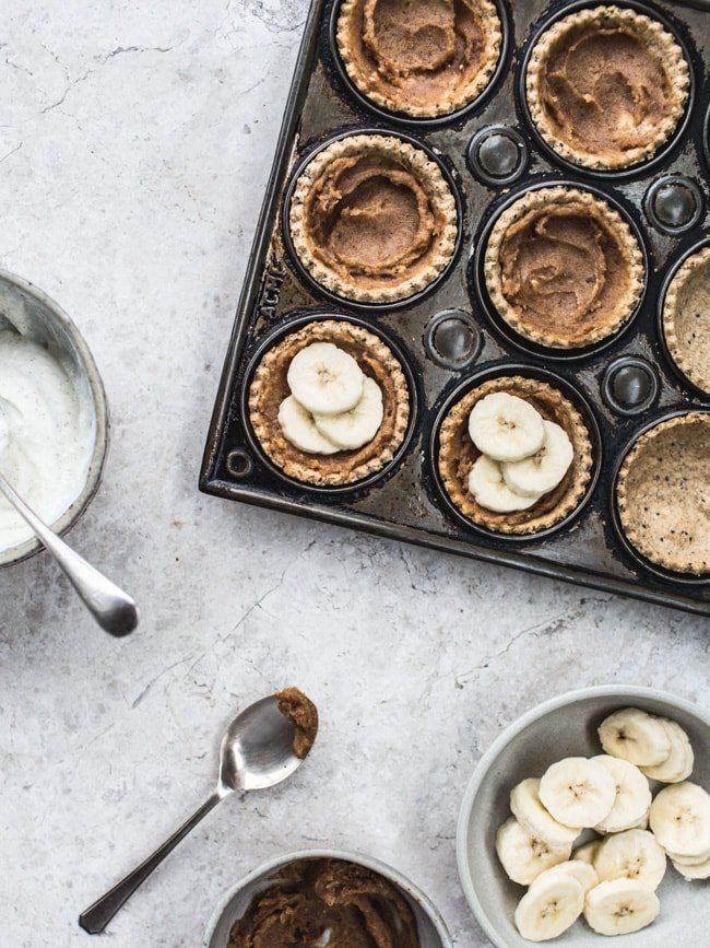 banoffee pie bites (vegan, GF & No Refined sugar)-1680