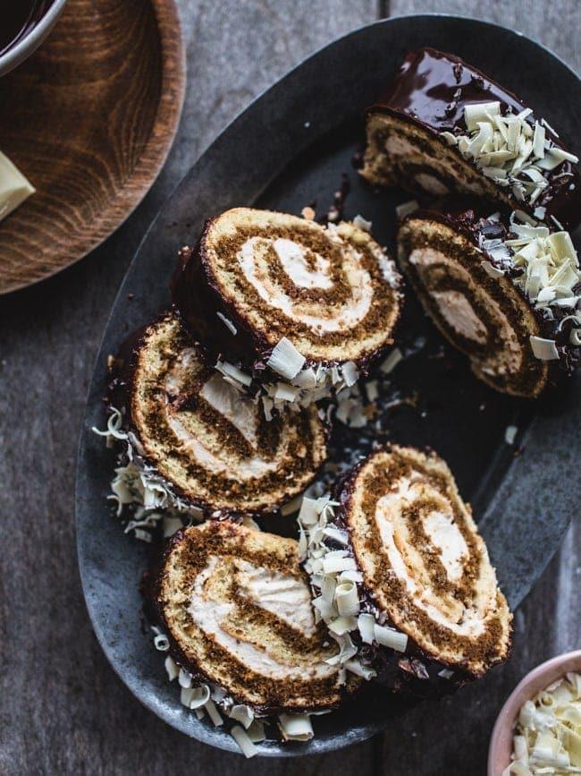 Tiramisu Swiss Roll Cake-37
