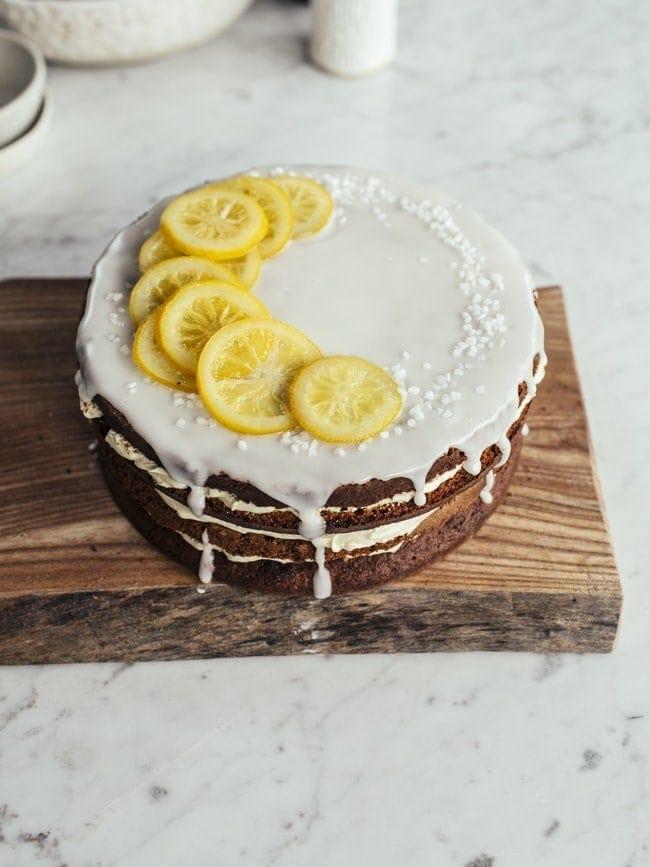 Lemony Zucchini Cake-4
