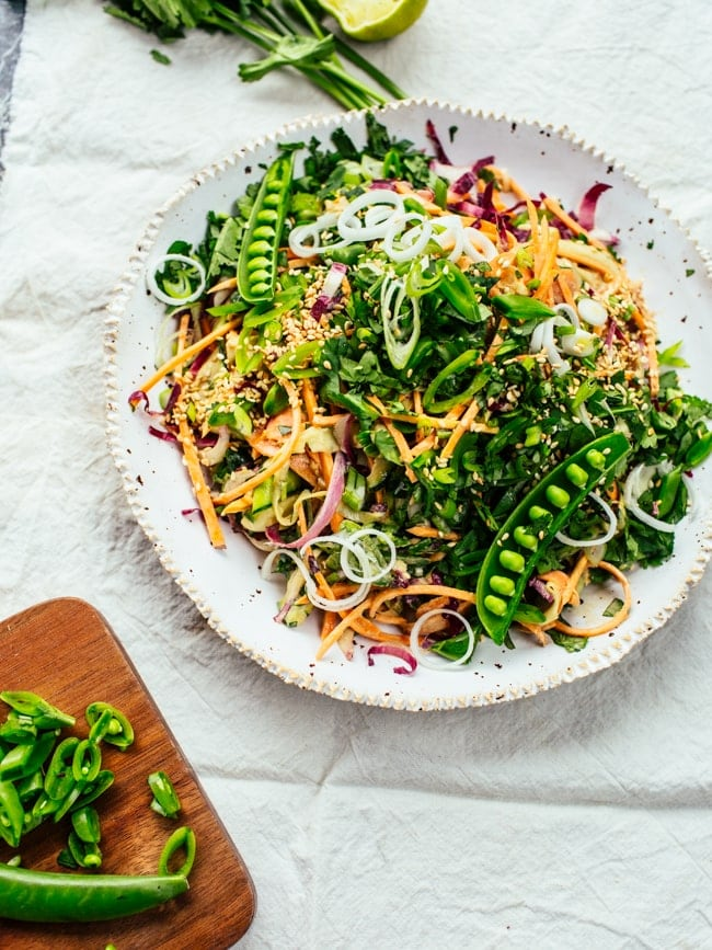 Raw Sweet Potato Satay Salad-14