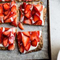 Yossy's Simplest Strawberry Tart