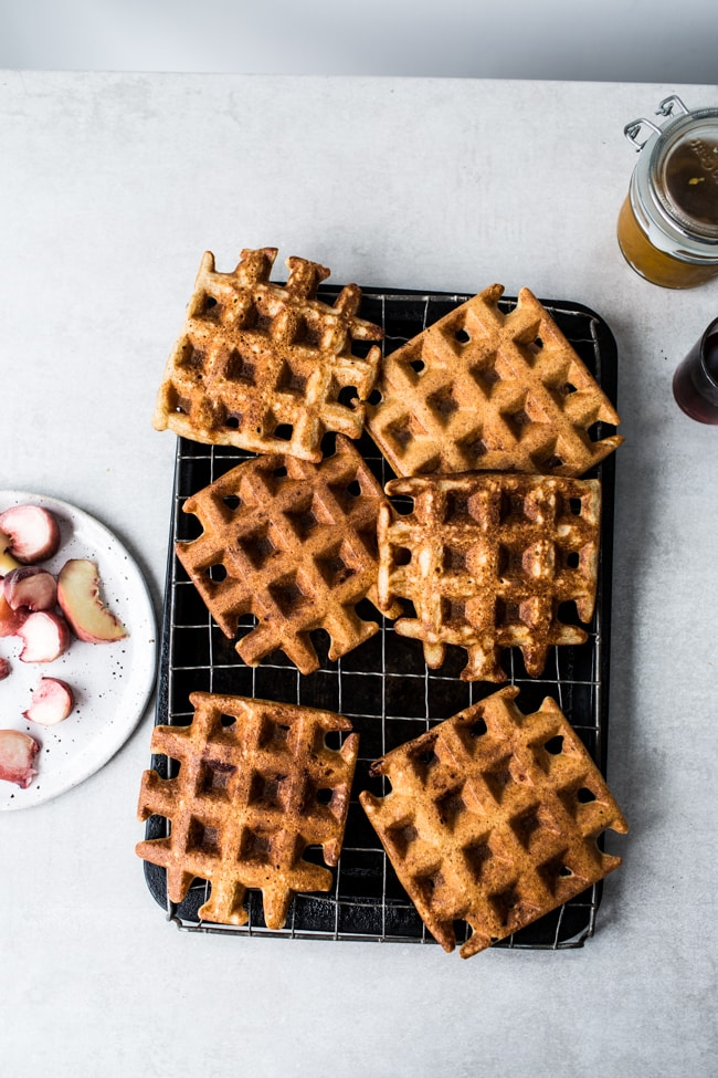 crispy-sourdough-waffles-3