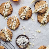 Cranberry, Oat and White Chocolate Biscuits