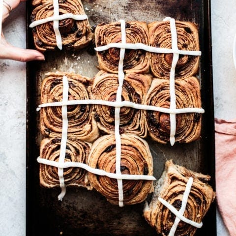 Hot Cross Chelsea Buns