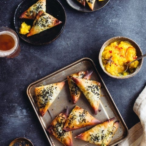 Runner Bean Samosas