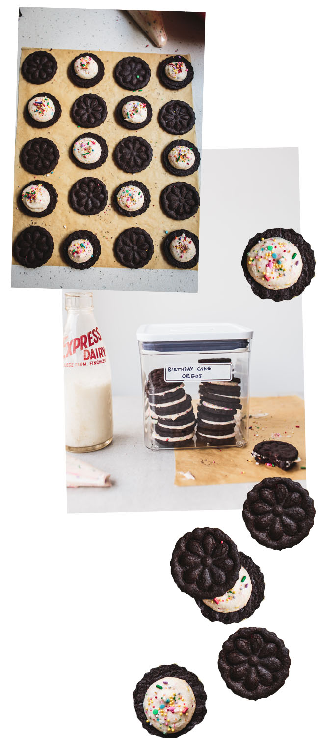 Diy Birthday Cake Oreos Izy Hossack Top With Cinnamon