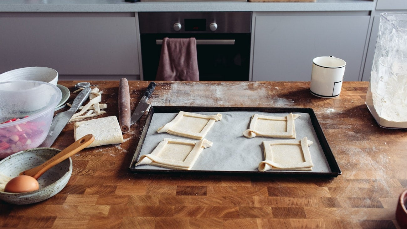 How to make rough puff pastry by Izy Hossack