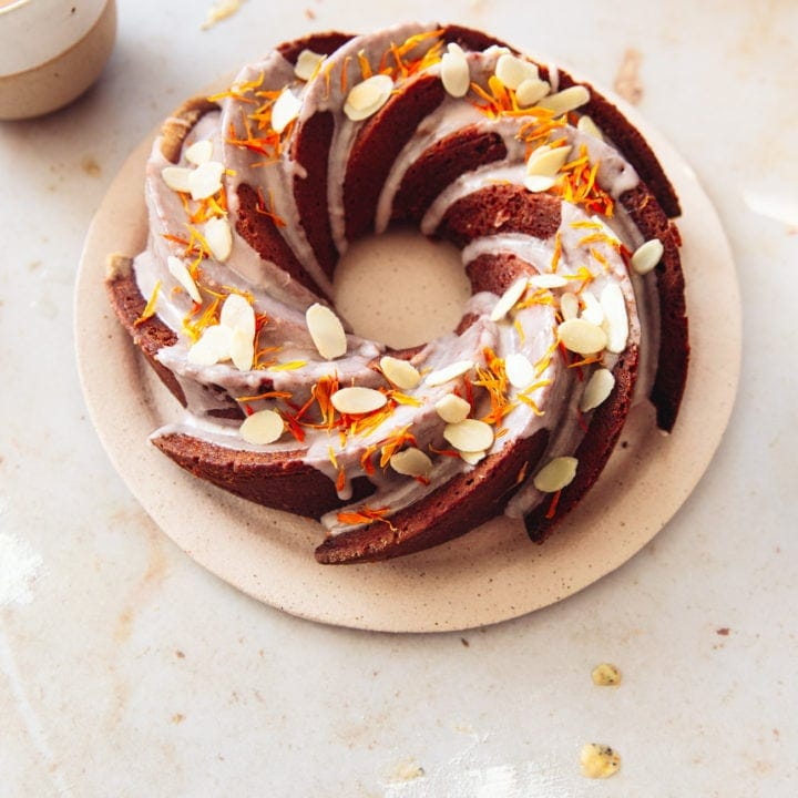 Blood Orange Poppy Seed Cake