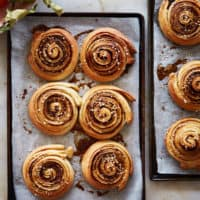 Apple Cardamom Chelsea Buns