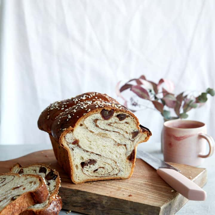 Sourdough Cinnamon & Date Swirl Bread
