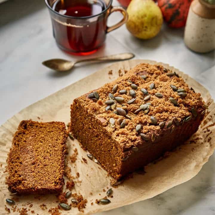 Sourdough Pumpkin Bread (Vegan)